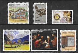 2005- Timbres 2° Semestre Neufs - Stamps