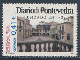 Spain Espana 2006 Mi 4123 ** 117th Ann. Diario De Pontevedra (1889) - Daily Newspaper / Tageszeitung / Journal - 1931-Heute: 2. Rep. - ... Juan Carlos I