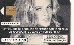 Télécarte Monoprix Laurene M F147 1991 - France