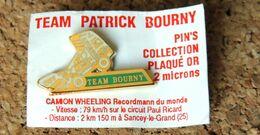 Pin's CAMION Du Cascadeur TEAM PATRICK BOURNY - Neuf En Sachet Avec Attache - Pin's & Anstecknadeln