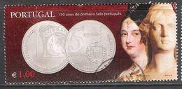 Portugal - CE 3063 Circulado (Selo Do Bloco) - 1910-... République