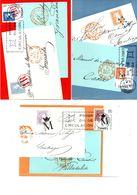 Serie Nº 1798/1800 Dia Del Sello Tarjeta Maxima - Tarjetas Máxima