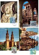 Serie Nº 1935/8 Turismo  Tarjeta Maxima - Tarjetas Máxima