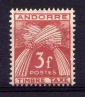 ANDORRE - T35** - GERBES - Timbres-taxe