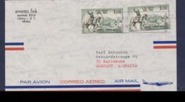Mexico Cover Franked W/El Dia De La Batalla De Puebla - 5 De Mayo Posted 1965 To Germany (G114-30) - México