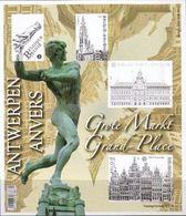 België 2014 Belgique - BL219xx - De Antwerpse Grote Markt (ongetand) - La Grand-Place D'Anvers (non Dentelé). - Blocks & Kleinbögen 1962-....