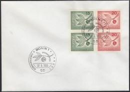 BRD 483-484, FDC, Europa CEPT, 1965, Zweig - Europa-CEPT