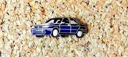 Pin's SEAT Toledo Bleu - Email Et Chrome - Fabricant Officiel SEAT - Pin's & Anstecknadeln