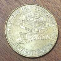 10 LE PETIT TRAIN DU LAC DE LA FORÊT D'ORIENT MEDAILLE MONNAIE DE PARIS 2008 JETON MEDALS COIN TOKENS - Monnaie De Paris