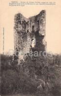 Derval - Donjon Du Chateau St Clair - Castle Ruins - Old Postcard - France - Unused - Derval