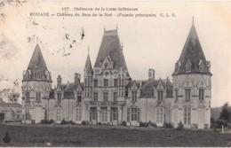 Bouaye - Chateau Du Bois De La Noe - Facade Principale - Castle - Old Postcard - 1907 - France - Used - Bouaye