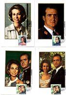Serie Nº 2302/5 Don Juan Carlos  Tarjeta Maxima - Tarjetas Máxima
