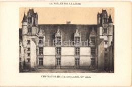 Chateau De Haute Goulaine - La Vallee De La Loire - Castle - Old Postcard - France - Unused - Haute-Goulaine
