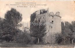 Machecoul - Ruines Du Chateau De Gilles De Retz Dit Barbe Bleue - 304 - Castle Ruins - Old Postcard - France - Unused - Machecoul
