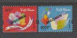 VIET NAM  2004  #SPECIMEN - ROSES  **MNH    Réf  04A - Vietnam