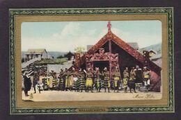 CPA Nouvelle Zélande Maori Non Circulé Type Ethnic Tuck Totem - Nouvelle-Zélande
