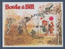 Fête Du Timbre Par Jean Roba: Boule Et Bill 2002 BF46 (3469) Oblitéré - Blocs & Feuillets