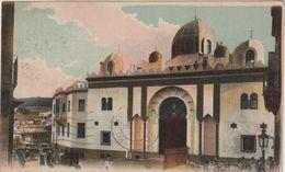 Algérie :  CONSTANTINE : La  Nouvelle   Médersa  ( Timbre ) - Constantine