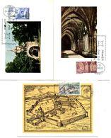 Serie Nº  1834/6 Monasterio De Santa Maria De Veruela  Tarjeta Maxima - Tarjetas Máxima