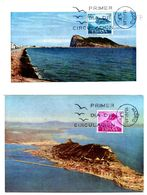 Serie Nº  1933/4 Pro Trabajadores De Gibraltar  Tarjeta Maxima - Tarjetas Máxima
