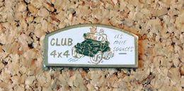 Pin's 4x4 Club Les 1000 Sources - Peint Cloisonné - Fabricant Inconnu - Pin's & Anstecknadeln