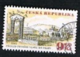 REP. CECA (CZECH REPUBLIC) - SG 93 - 1995  OLOMOUC-PRAGUE  RAILWAY ANNIVERSARY -   USED - República Checa