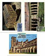 Serie Nº  1946/8 Monasterio De Las Huelgas  Tarjeta Maxima - Tarjetas Máxima