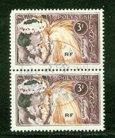 Polynésie Française / French Polynesia; Scott # 209; Paire Se Tenant; Usagés (3357) - Polinesia Francese