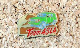 Pin's 4x4 Publicitaire Du Team ASLA - Peint Cloisonné - Fabricant EP - Pin's & Anstecknadeln
