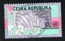 REP. CECA (CZECH REPUBLIC) - SG 114 - 1995  O.N.U. ANNIVERSARY  -   USED - República Checa