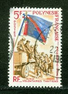 Volontaires Tahitiens; Polynésie Française / French Polynesia; Scott # 210; Usagé (3358) - Polinesia Francese