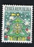 REP. CECA (CZECH REPUBLIC) - SG 115 - 1995  CHRISTMAS  -   USED - República Checa