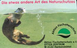 ALLEMAGNE  -  Phonecard  -  Otter-Zentrum  -   6 DM - Deutschland