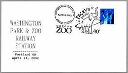40 Aniv. ELEFANTE PACKY - 40 Birthday ELEPHANT PACKY. Oregon Zoo. Portland OR 2002 - Elefantes