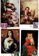 Serie Nº  1270/9 Bartolome Estaban Con Matasellos Exposicion Filatelica De Gracia.  Tarjeta Maxima - Tarjetas Máxima