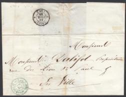"""France 1849 - Précurseur De Paris à Destination Paris.  La Poste à Paris"""" ...   (VG) DC-7836 - France"""