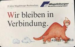 ALLEMAGNE  -  Phonecard  - Wir Bleiben In Verbindung  -  6 DM - Deutschland