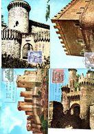 Serie Nº  1809/16  Castillos Tarjeta Maxima - Tarjetas Máxima