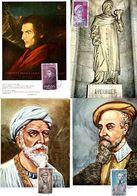 Serie Nº  1791/4 Personajes  Tarjeta Maxima - Tarjetas Máxima