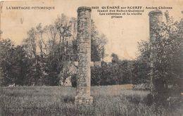 GUEMENE SUR SCORFF     ANCIEN CHATEAU FEODAL - Guemene Sur Scorff