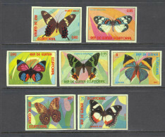 Equatorial Guinea Insects - Butterflies Imperforate MNH (T1983) - Guinée Equatoriale