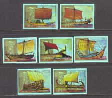 Equatorial Guinea Ships Imperforate MNH (T1614) - Guinea Equatoriale