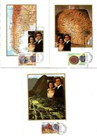 Serie Nº  2493/5 Viaje De Los Reyes  Tarjeta Maxima - Tarjetas Máxima