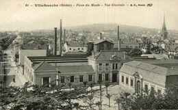 VILLEFRNCHE PLACE DU MUSEE VUE GENERALE - Villefranche-sur-Saone