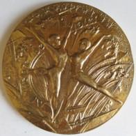 Médaille 1983 Que L'Année Nouvelle Soit Pour Vous Source Jaillissante De Joies ! Par Turlan - Francia