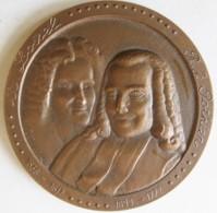 Médaille Notariat Français, Caisse Des Dépôts. A. Loisel - R.J. Potier 1976, Par Mérelle - Francia