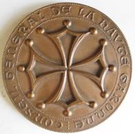 Médaille Conseil General De La Haute Garonne 1987 Château Narbonnais Et L'Eglise Saint-Sernin - Francia