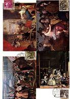Serie Nº  1238/47 Diego Velazquez Matasellos Especial  Exposicion De Gracia  Tarjeta Maxima - Tarjetas Máxima