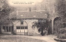 Clisson - Le Chateau - Pavillon Du Garde - Pres L'Entree - Castle - 110 - Old Postcard - 1925 - France - Used - Clisson