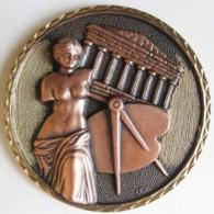 Médaille Société Des Beaux Art Beziers (Hérault) 45e Salon 2001, Le Centenaire. - Francia